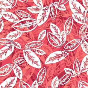 Leaf Garlands White Zin on White Merlot 300