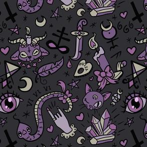 Large Cute Occult in Dark