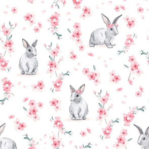 Cherry Blossom Bunny