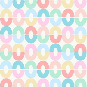 Abstract Pastel Rings