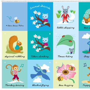 Animal Friends - baby book