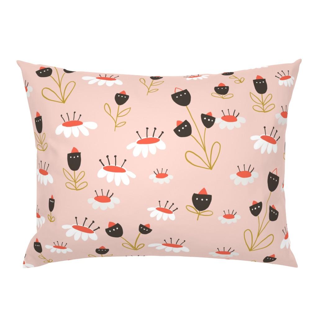 Campine Pillow Sham featuring 04-orange-chocolate by manuela_langella