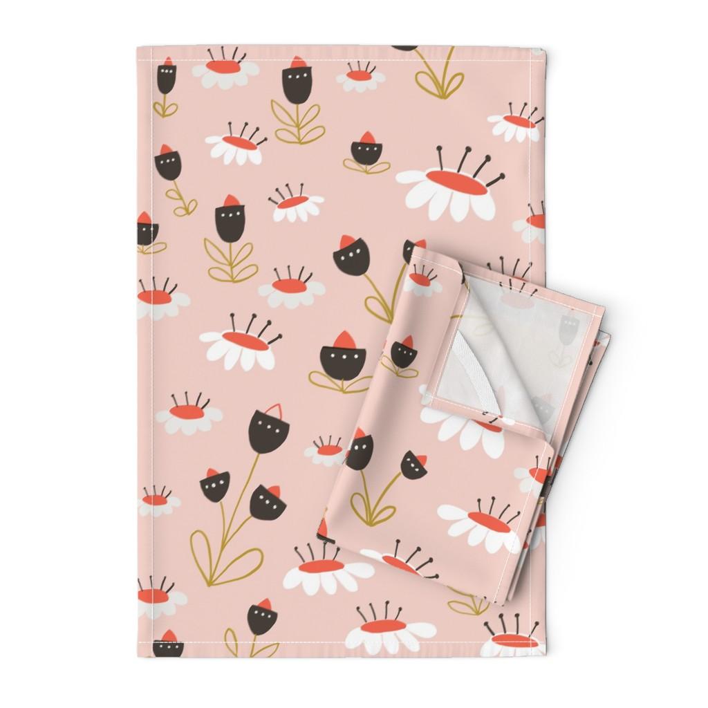 Orpington Tea Towels featuring 04-orange-chocolate by manuela_langella