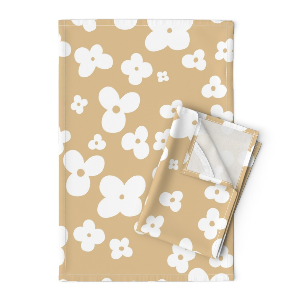 Orpington Tea Towels featuring 06-browny-meadow by manuela_langella
