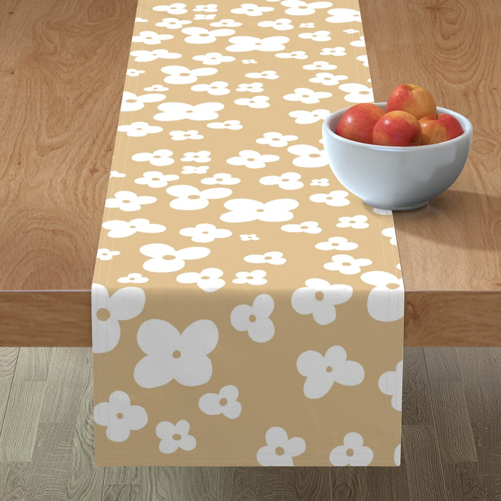 Minorca Table Runner featuring 06-browny-meadow by manuela_langella