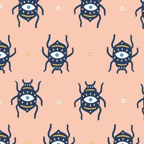 Bugs with all seeing eyes