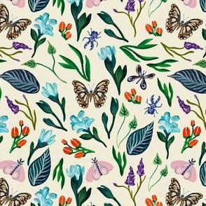 Spring Gardens Cream