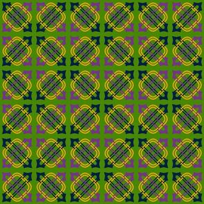 Merlins Knot Green Mauve Chrome Union