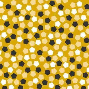 Pentagonal mosaic - Dijon
