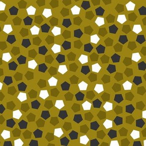 Pentagonal mosaic - Olive