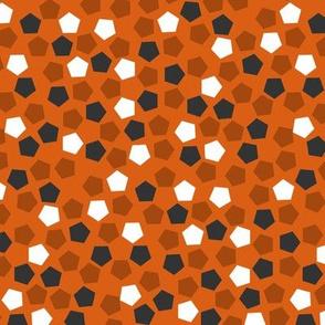 Pentagonal mosaic - Squash