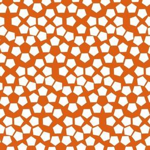 Small random pentagons - Squash