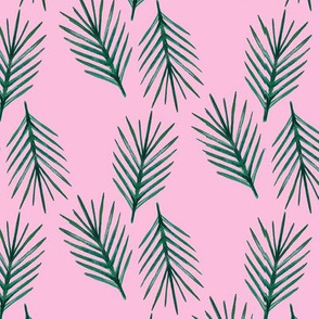 Palm Leaf Pink