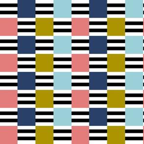 Liquorice Allsorts ribbon weave - trendy colors