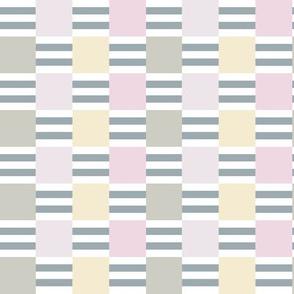 Liquorice Allsorts ribbon weave - pastel colors