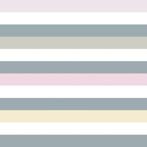 Liquorice Allsorts stripes - pastel colors