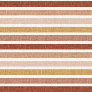 "1"" Multicolor Stripes linen"