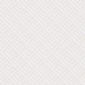 Herringbone // grey on white
