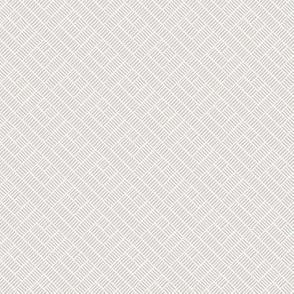 Herringbone // white on grey