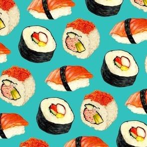 Sushi - Blue