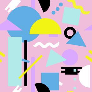 Postmodern Sea ll in Pastel 80's