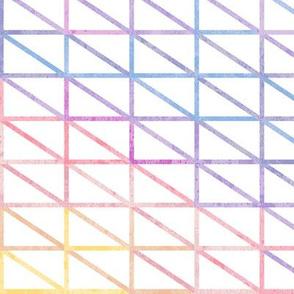 Sunburst Triangle Outlines