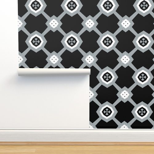 Wallpaper The Black And The Gray Diamond Sparkle