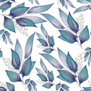 Blues Leaves