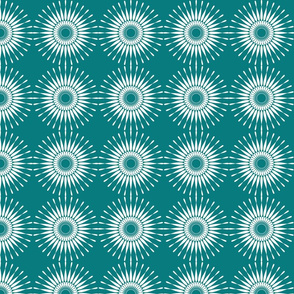 Spanish Tile - Sunburst (inverted)