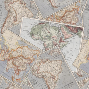 Vintage Travel Maps