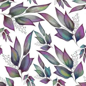 Multi Color Leaves