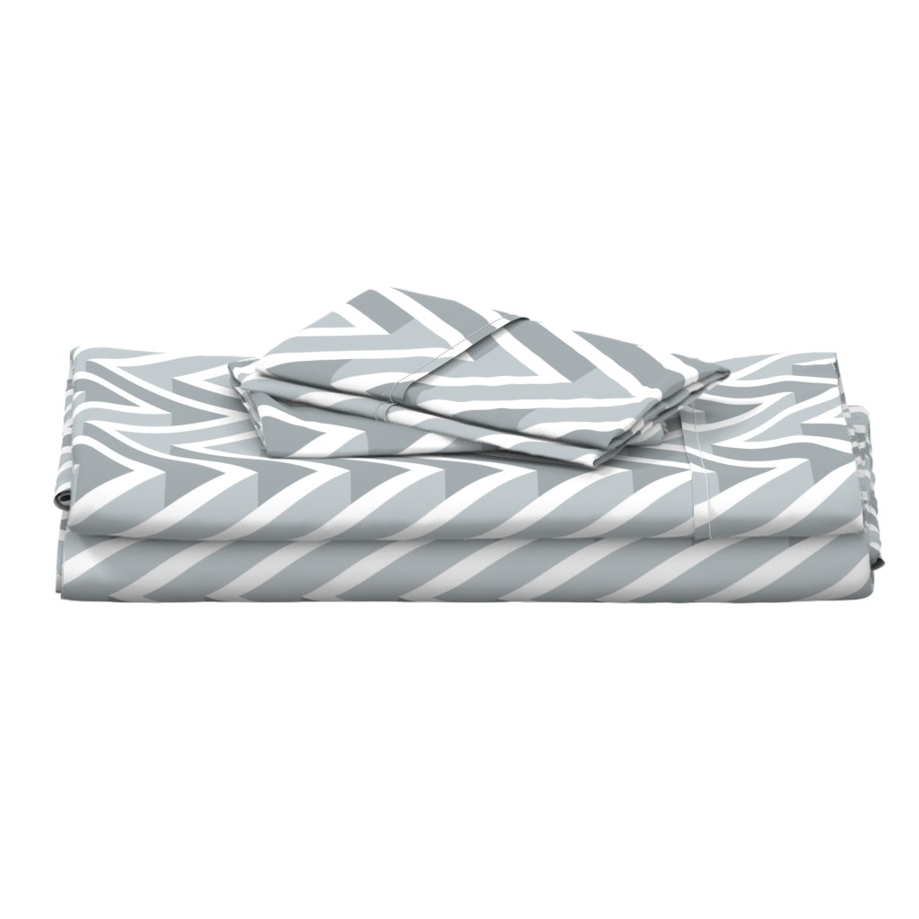Langshan Full Bed Set featuring 3D ZIG ZAG   by chicca_besso