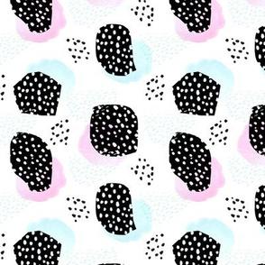 Abstract Minimalism - Black Dots