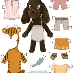 Tiffany Paper Doll