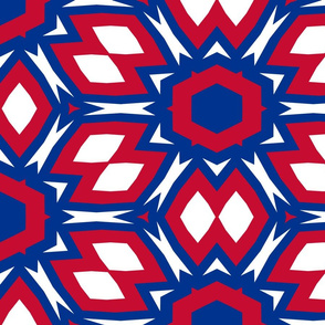 The Red and the Blue_July Floral