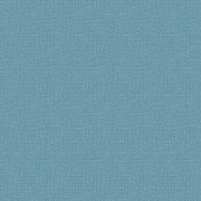 bright denim blue linen look faux linen seamless linen with slubs