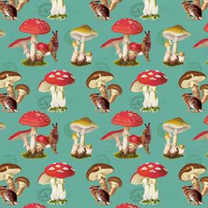 Mushroom Meadows: Teal