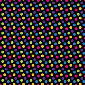 Colorful Balls - Black