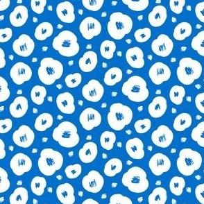 Flower Puffs, Blue
