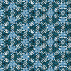 Sanibel: Batik Star-Teal