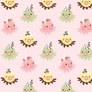 Meru + Friends Octopi Strawberry