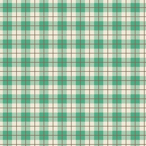 Camp Plaid Spearmint