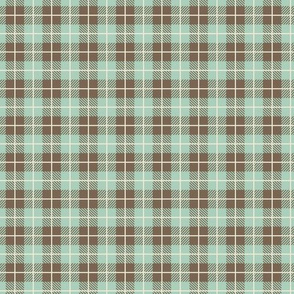 Camp Plaid Spearmint Dark