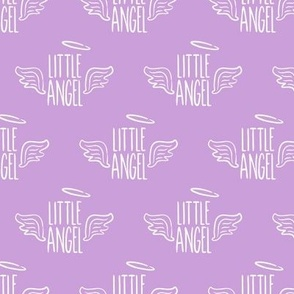 Little Angel - purple - LAD19