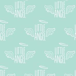 Little Angel - aqua - LAD19