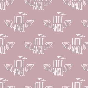 Little Angel - mauve - LAD19