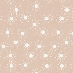 medium  // barely blush pink Sunshine linen