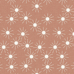 medium  // Pink clay medium Sunshine linen summer suns