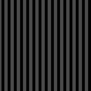 black and dark grey stripe 1/4 quarter inch vertical