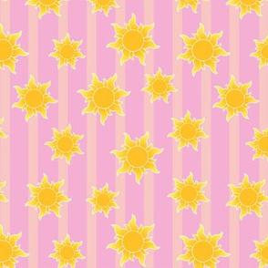 Princess Suns Striped Small